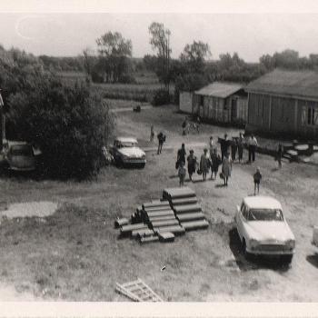 Les installations Stella Plage début des années 60