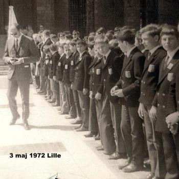 LILLE 3 mai 1972 - Place Rihour