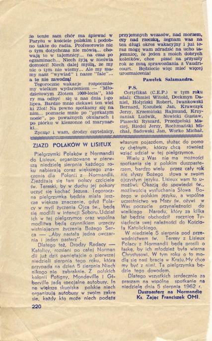 Niepokalana 1964