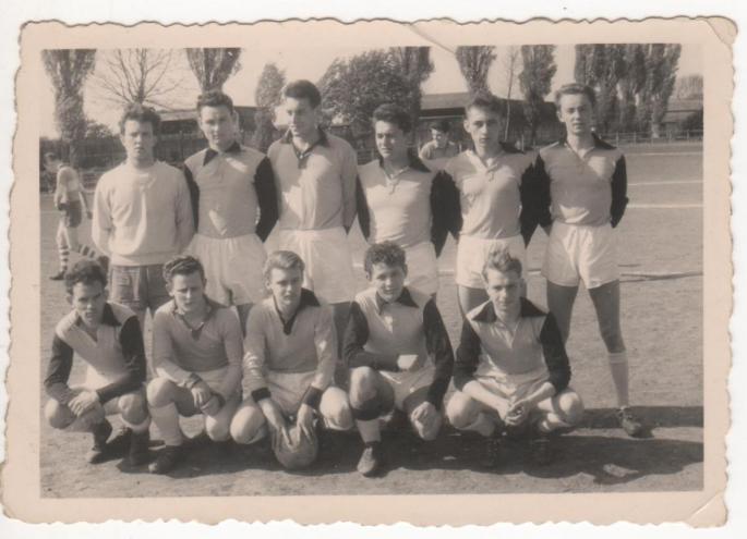 Foot avec l'équipe de Saint Vaast