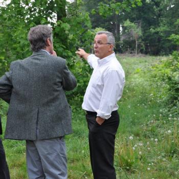 J. Kowalski, les frères Srocki et G. Skarbek dans le Parc