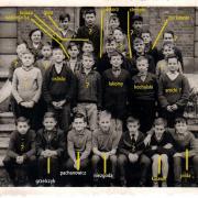 photo de classe 6ème avec le nom des élèves