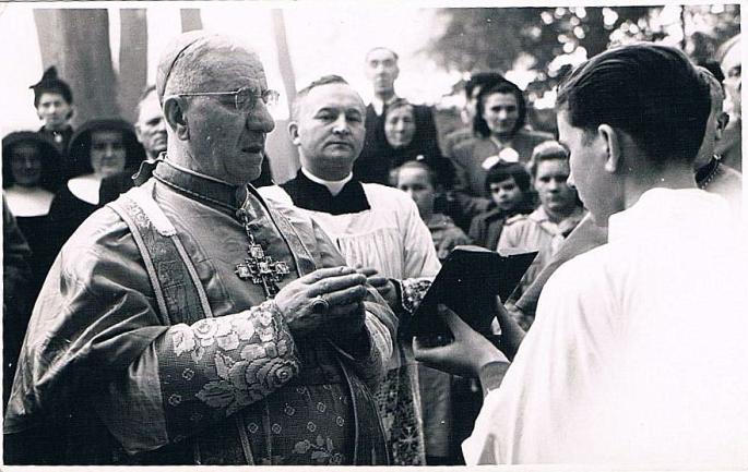 3 Octobre 1953, Cardinal Piazza, Ojciec Kubs, Stefaniak.