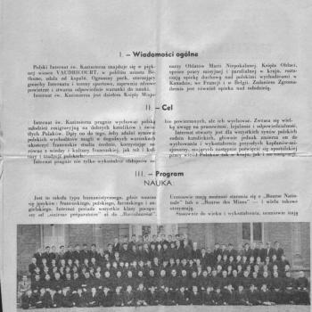 Internat Saint Casimir Vaudricourt (Doc Henri Teodorczyk)