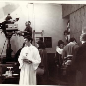 Antenne 2, Jour du Seigneur, R Paluk enfant de Chœur à Marles 1979