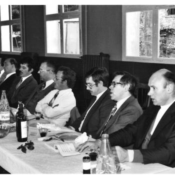 1° mai 1981, réunion des anciens de saint Casimir à Vaudricourt