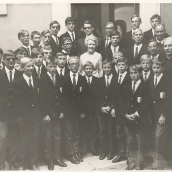 Nous avons chanté devant SS Paul VI à Castelgondolfo en 69