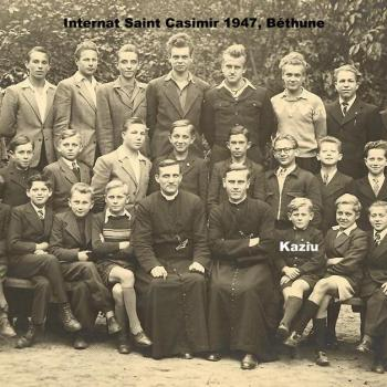 Première année de L'internat à Béthune