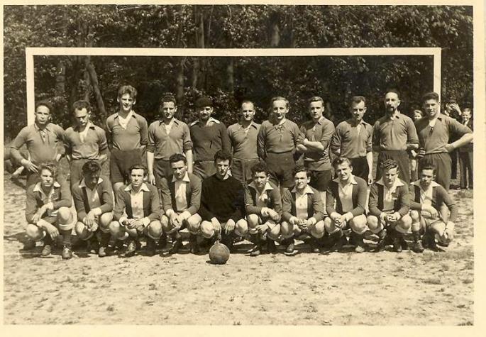 1954, Vaudricourt, Rencontre avec les séminarites de Velaines.