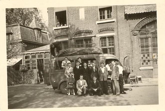 1951, Départ de Béthune du premier tour de France casimirien