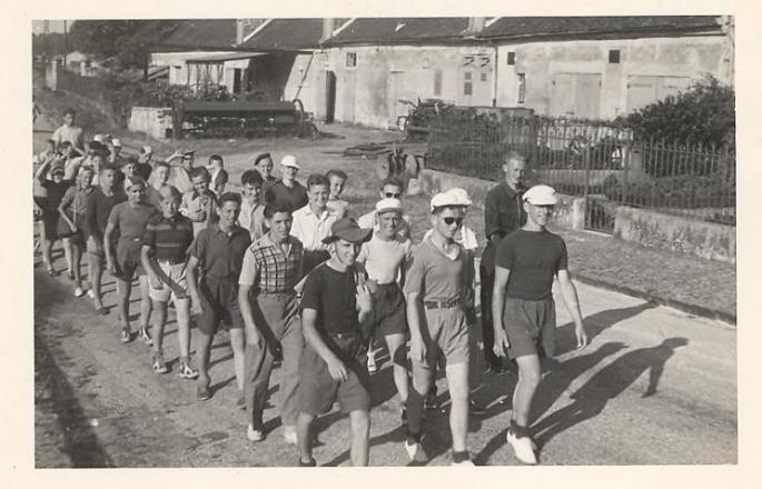 1948, Vacances d'éte à La Ferté sous Jouarre