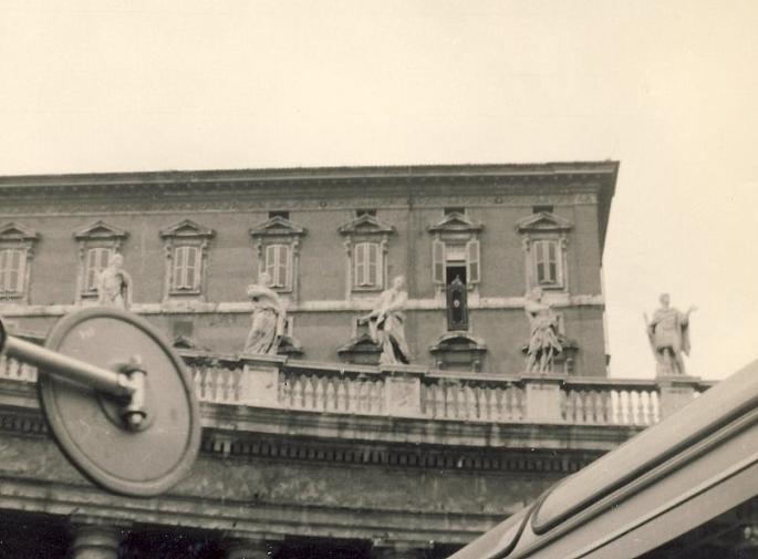 Bénédiction par S.S. Paul VI (photo C. Lukasiewicz)