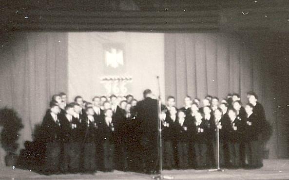 Chorale au Palais des Sports (photo C. Lukasiewicz)
