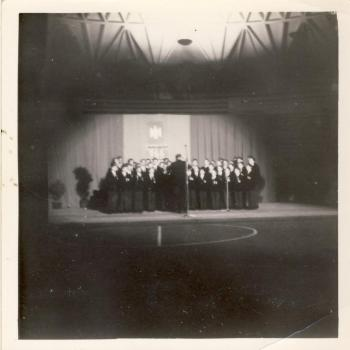Chorale au Palais des Sports (photo C. Lukasiewicz)
