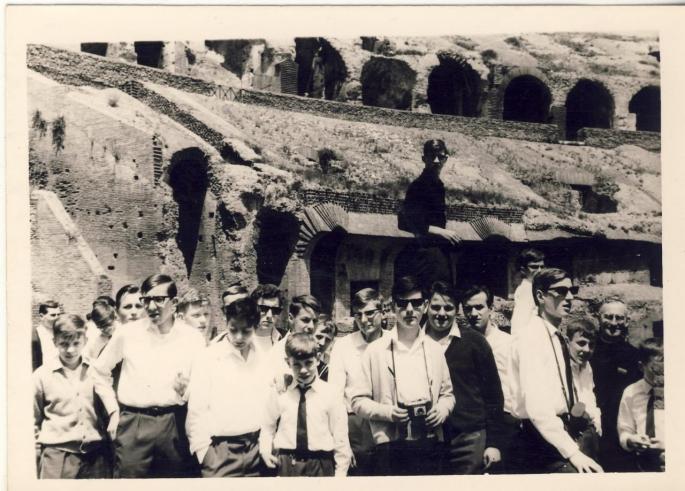 Dans le Colisée (photo C. Lukasiewicz)