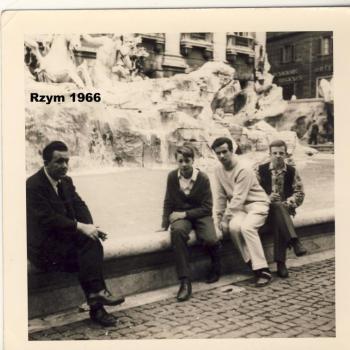 Rome-Mai 1966, Fontaine de Trévi  (