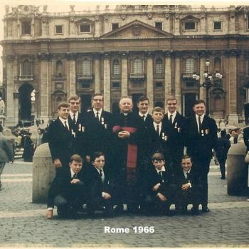 Rome 1966 les ouailles du père Jagla