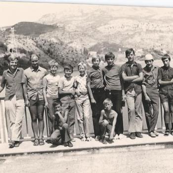 Voyage en camionette en Espagne 1970, (Photo F. Ziec)