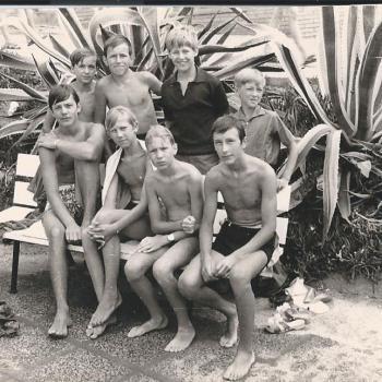 Camping MASNOU, Espagne 1970, (Photo F. Ziec)