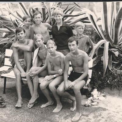 Voyage en camionette en Espagne 1970