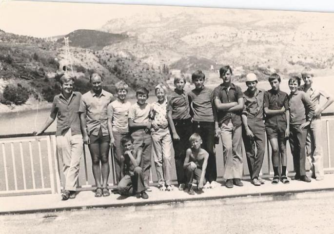 Internat Saint Casimir Voyage en Espagne 1970 (Photo F. Ziec)