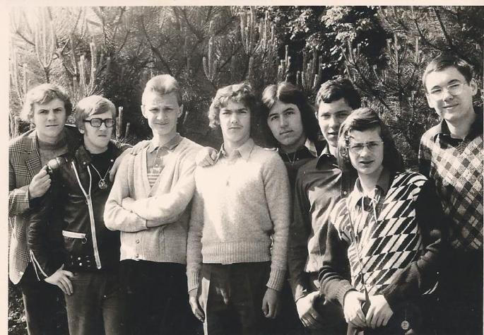Classe de 3° Internat Saint Casimir 1974 (Photo F. Ziec)