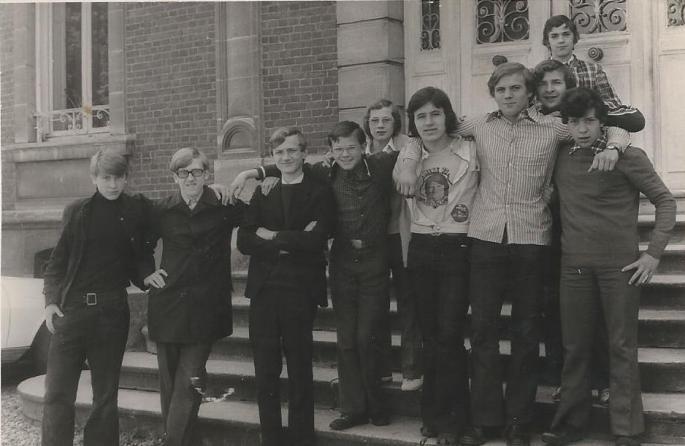Internat Saint Casimir Classe de 3° 1973 (Photo F. Ziec)