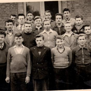 4° B abbé Robay 1954-55, Internat Saint Casimir (photo J. Sidzina)