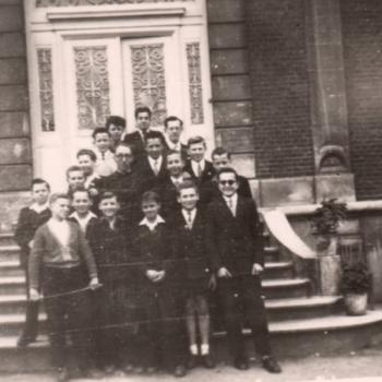 5° B 1953-54 Abbé Morin, Internat Saint Casimir (photo J. Sidzina)