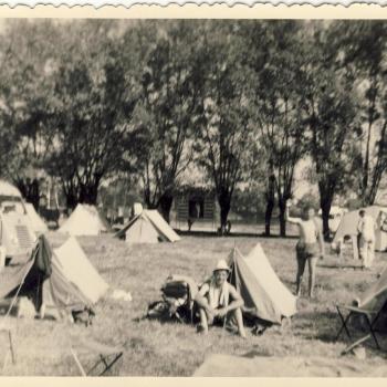 Reveil au camping de Tarbes