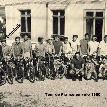 Tour de France en vélo  1960  à La ferté sous Jouarre