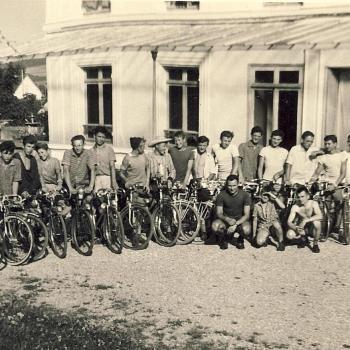 18 vélos et cyclistes entiers. Des vacances superbes.
