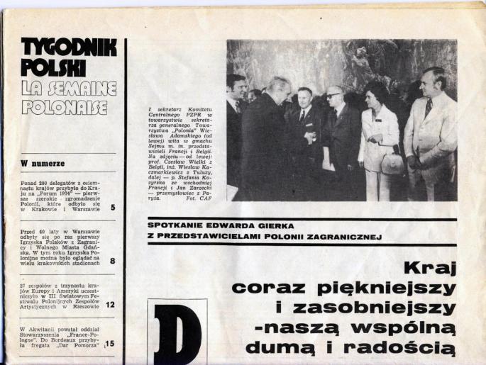 Tygodnik Polski 1974