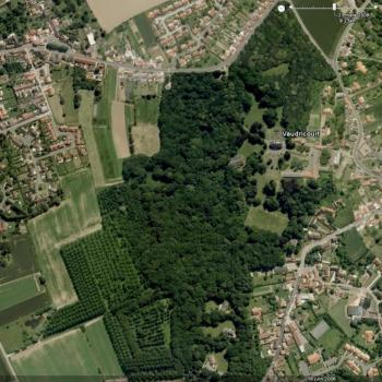 Saint Casimir Vaudricourt, vue aérienne 1