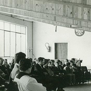 Vaudricourt messe fin d'annee 1974