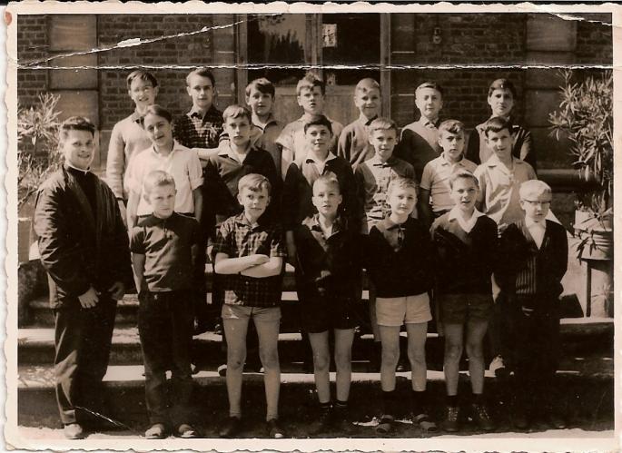 Classe de 5°B, 196?, 196?, (photo Fraszczak F)