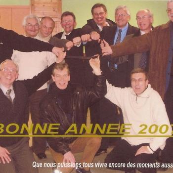 Vaudricourt   Les anciens de 4° en 2007