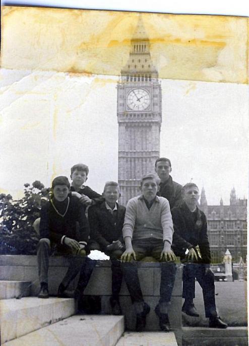 Voyage Angleterre 1964 2