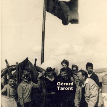 Voyage en GB 1964 Bateau