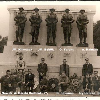 Voyage en GB 1964 Londres monument aux morts