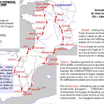 Voyage Espagne 1959, Cliquer pour agrandir.