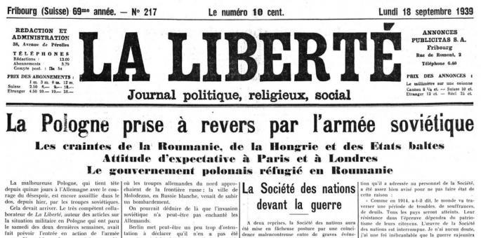 18 septembre 1939