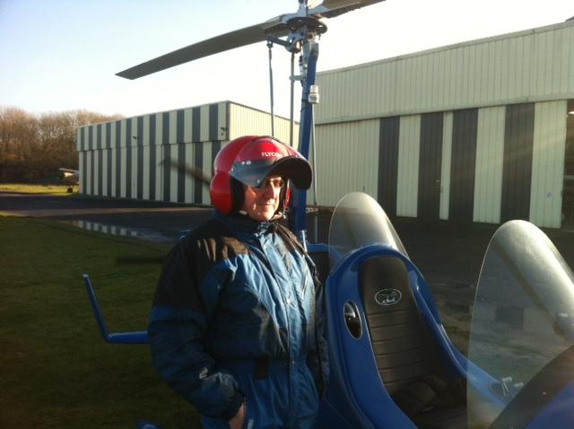Notre pilote en tenue...