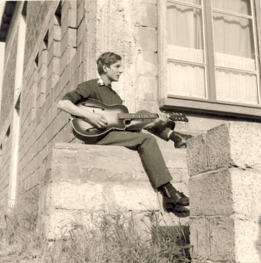 Bernard Dudkiewicz. Année 65. Photo R. Zalisz