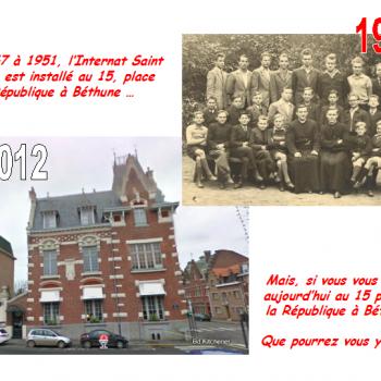 Aujourd'hui, en 2012, que pourriez vous faire au 15, Place de la République à Béthune ?