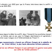 Lequel de ces officiers français n'a pas participé à la guerre russo-polonaise