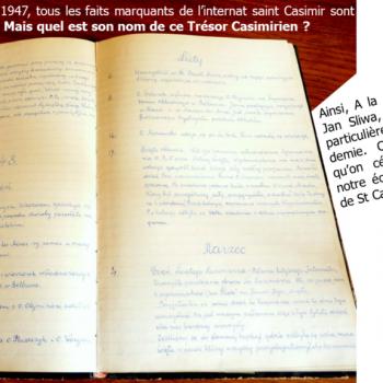 Quel est le nom de ce Trésor Casimirien, manuscrit de notre histoire ?