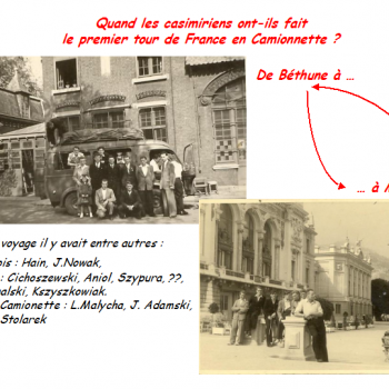 Quand a eu lieu le premier Tour de France Casimirien en camionnette ?