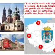 Où se trouve cette ville capitale de la voïvodie de Grande-Pologne ?