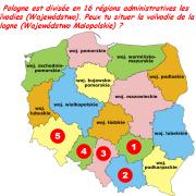 Peux tu situer la voïvodie de la Petite Pologne (Wojewódstwo Małopolskie) ?